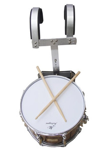 "MAHOGANI TENOR 14"" X 10"" HD W/RACK"