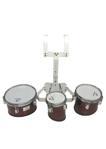 "MAHOGANI TRIO (6""+8""+10"") 104-15 JUNIOR W/RACK"
