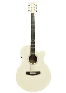 Mahogani MJG-200 C EQ White