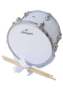 "MAHOGANI SNAR MC-1208 S [12"" X 8""] W/STRAP WHT"